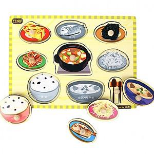 손잡이퍼즐 - 한국밥상