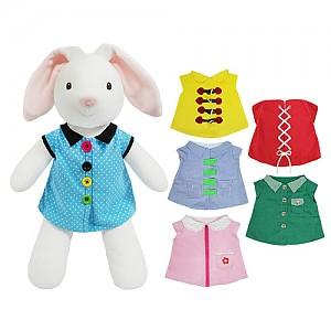 토끼 옷입히기