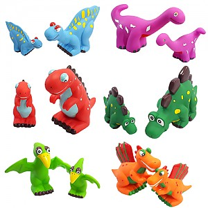 소프트 대형 공룡가족세트 12종