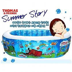 토마스 튼튼 타원형 수영장/풀/물놀이용품