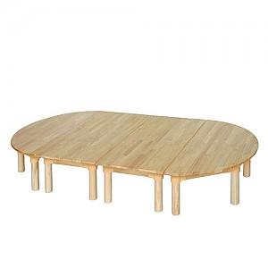 고무나무 책상세트 영아용(240)