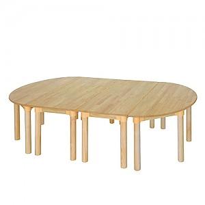 고무나무 책상세트 유치용(530)